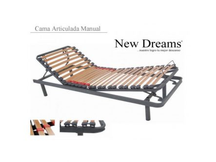 Cama Articulada Manual New Dreams   Ortopedia de Alquiler