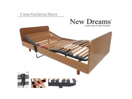 Cama Geriátrica Decor New Dreams | Ortopedia de Alquiler