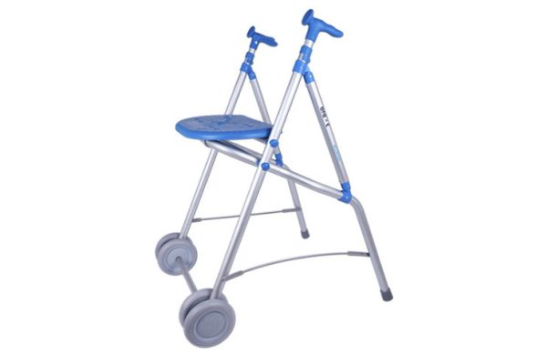 Caminador plegable de aluminio | Ortopedia de Alquiler
