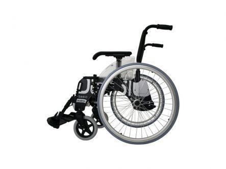silla-de-ruedas-de-aluminio-plegable-autopropulsable-basic-forta | Ortopedia de Alquiler