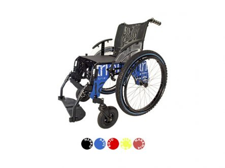 Silla de ruedas TRIAL PLAYA FORTA | Ortopedia de Alquiler